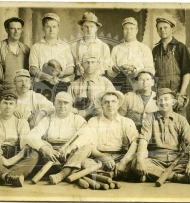 Fat Men's Ball Team 1911