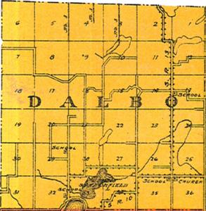 Dalbo Township