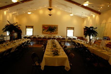 A wedding at ICHS Heritage Center